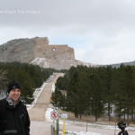 Phil in front of Crazy Horse Monument