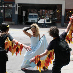 Bride is Attacked by Runners Dressed as Ravens
