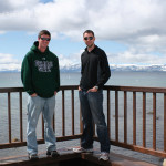 Phil and Brandon with Lake Tahoe in the Background