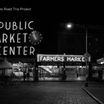 Seattles Public Market Center at Night