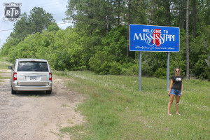 First time in Mississippi for both of us.