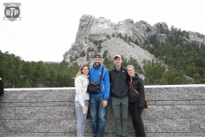 Gerri, Phil, Kevin, Kathryn at Mount Rushmore.