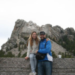 Gerri and Phil at Mount Rushmore.