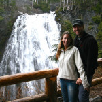 Us in front of Narada Falls.