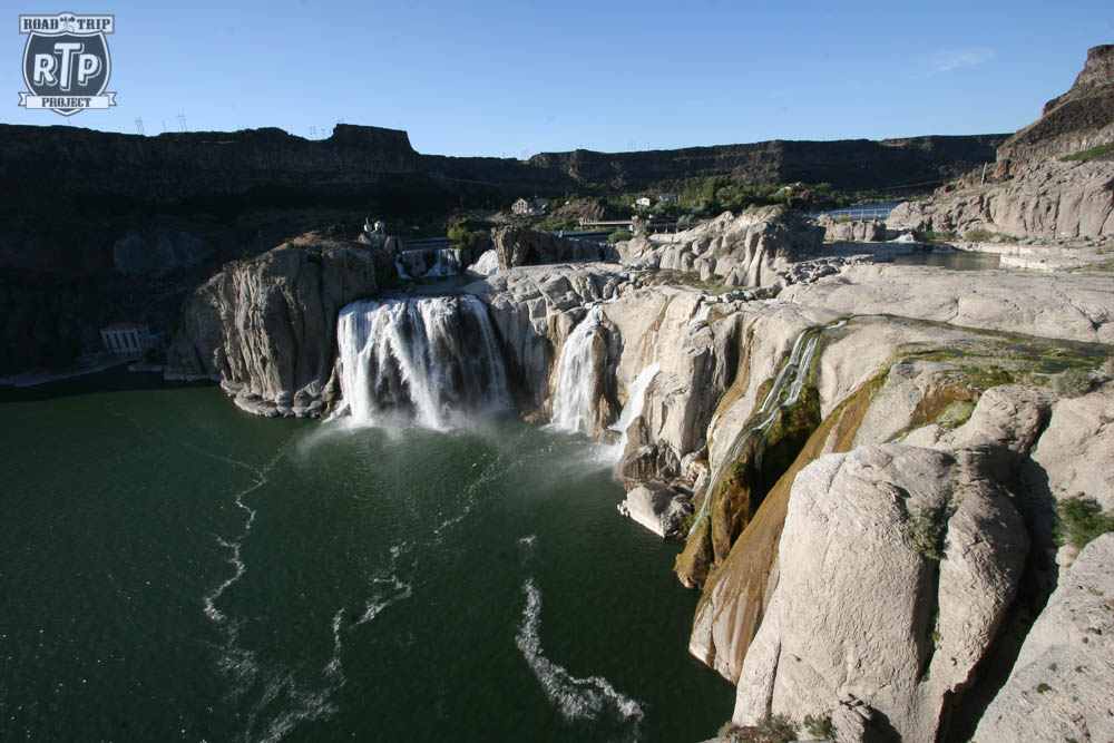 Shoshone Falls.  They call it the Niagra of the West.