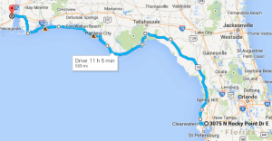 Tampa to Mobile